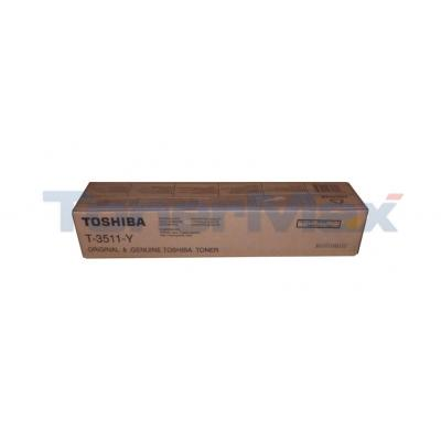 TOSHIBA E-STUDIO 3511 TONER CARTRIDGE YELLOW